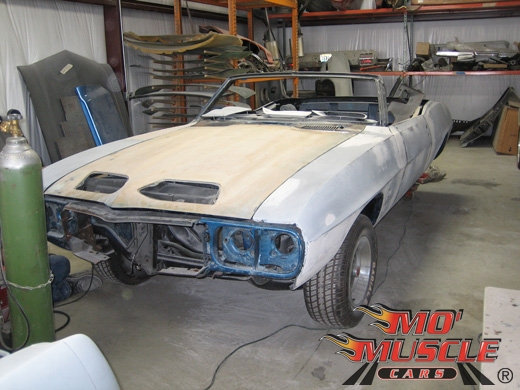 Full Restoration Of 69 Firebird Mo Muscle Cars