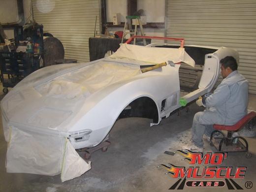Full Restoration Of 70 Corvette Mo Muscle Cars