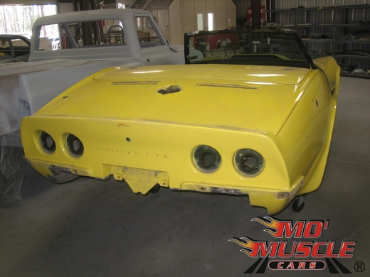 full restoration of 70 corvette | mo muscle cars
