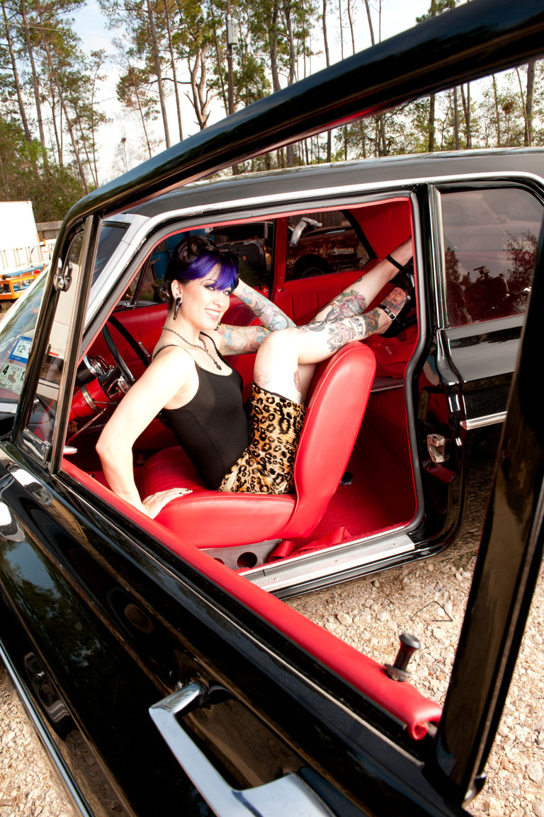 Pin Up Shoot With Warwick Boudoir Mo Muscle Cars